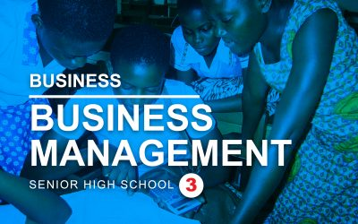 SHS 3 Business Management